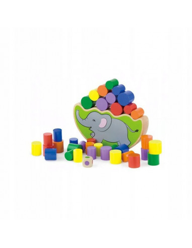 Balansujący słoń gra logiczna...