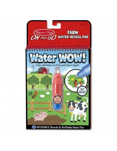 Kolorowanka wodna WATER WOW Farma