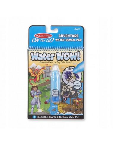 Kolorowanka wodna WATER WOW Przygoda