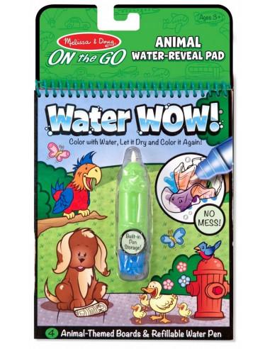Kolorowanka wodna WATER WOW zwierzęta