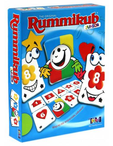 RUMMIKUB JUNIOR logiczna gra liczbowa