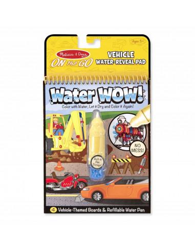 Kolorowanka wodna WATER WOW pojazdy