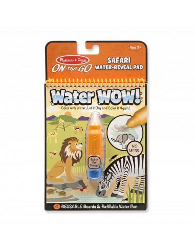 Kolorowanka wodna WATER WOW Safari