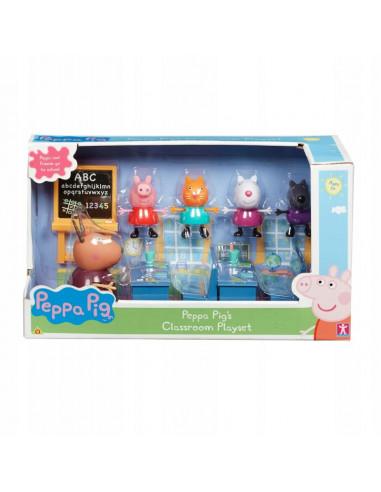 Klasa Świnki Peppy zestaw z figurkami