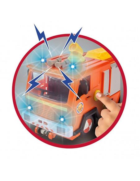 Wóz strażacki Jupiter 2.0 STRAŻAK SAM - sygnały dźwiękowe
